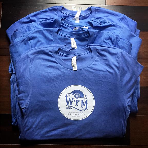 WTM Classic T SHIRT - Blue